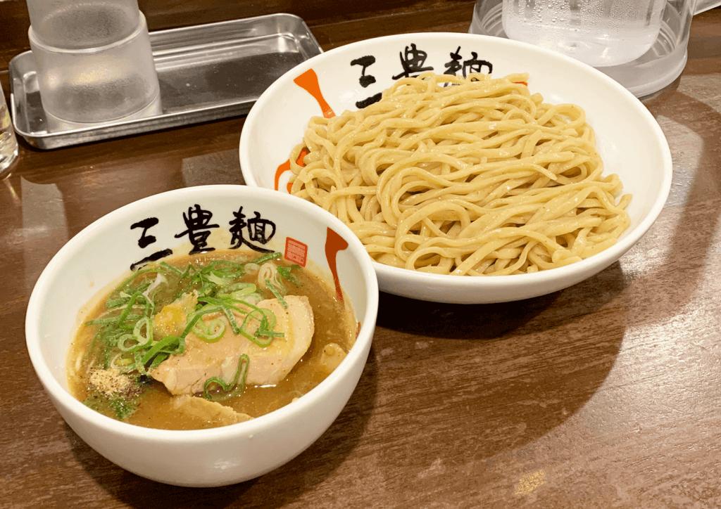 三豊麺 南方店 特製濃厚魚介つけ麺