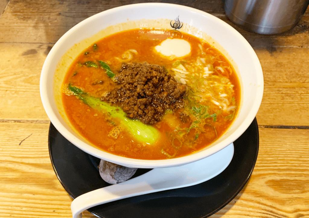 四川辣麺 西中島店 担担元味・辛口