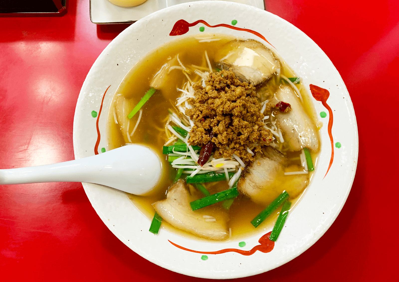 SOSラーメン 新大阪 SOSチャーシュー麺